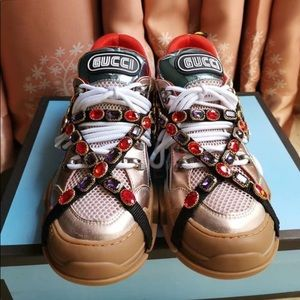 Gucci jewelry sneakers all size 581-244-9017